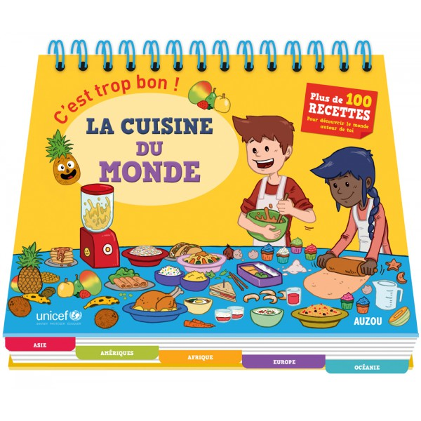 Recette De Cuisine Du Monde | C Est Trop Bon La Cuisine Du Monde Boutique Solidaire Unicef