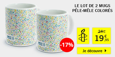 Achats Cadeaux Boutique International Solidaires Amnesty wXTOkPZiu