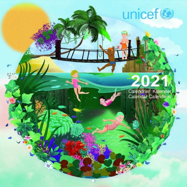 Calendrier 2021 Pour les enfants du monde   Boutique Solidaire UNICEF